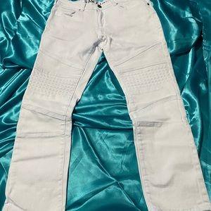 2/$30 White mens jeans